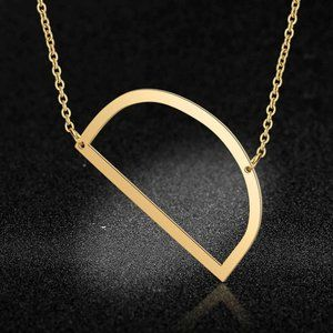 Jewelry - Stainless Steel Fashion Monogram D Necklace